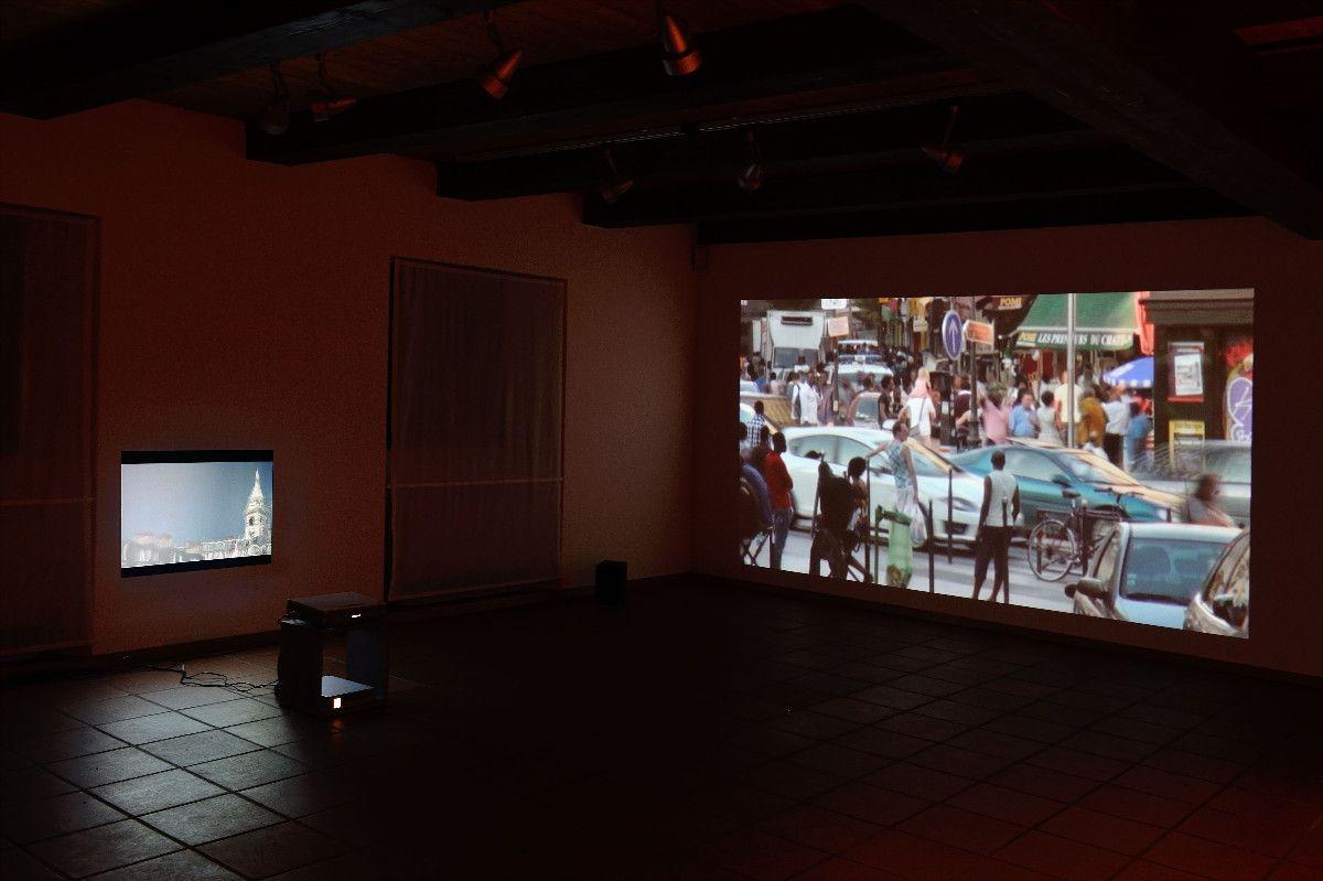 """Mont M, Château rouge, 2013, Video HD, Farbe, Ton, Bildformat 16:9, je 2' 15"""" - Raum für zeitgenössische Kunst Meggen"""