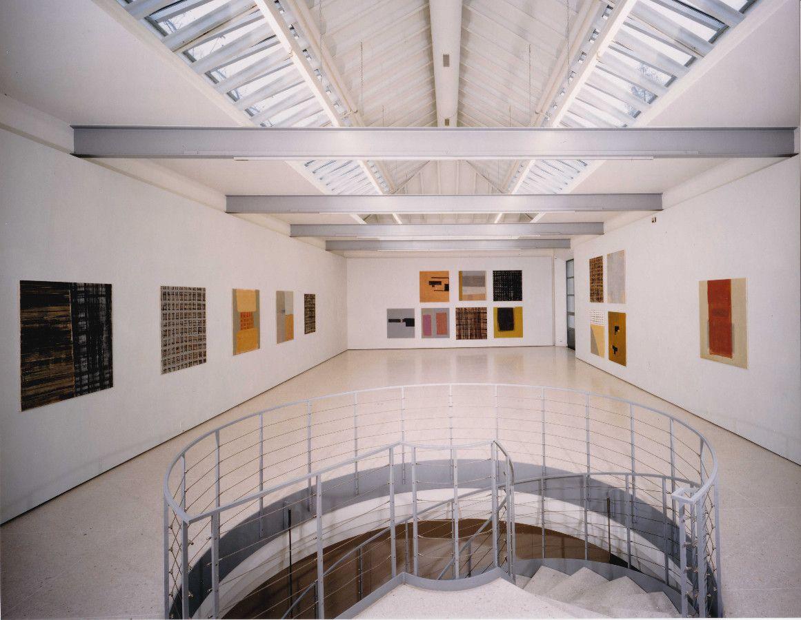 ohne Titel, 1996, Acryl auf Baumwolle, diverse Formate - Kunsthaus Zug